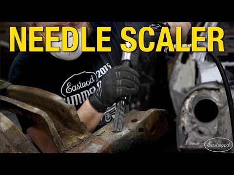 Remove Heavy Rust & Scaling - Perfect for Frames & Heavy Equipment - Rockwood Needle Scaler
