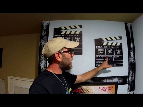 Episode 74 - Movie wall take two, 8 foot saltwater aquarium stand build.