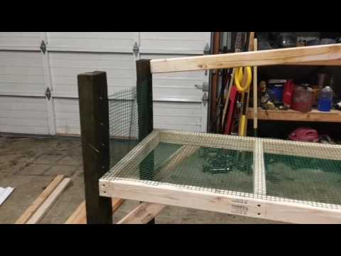 DIY rabbit hutch(2)