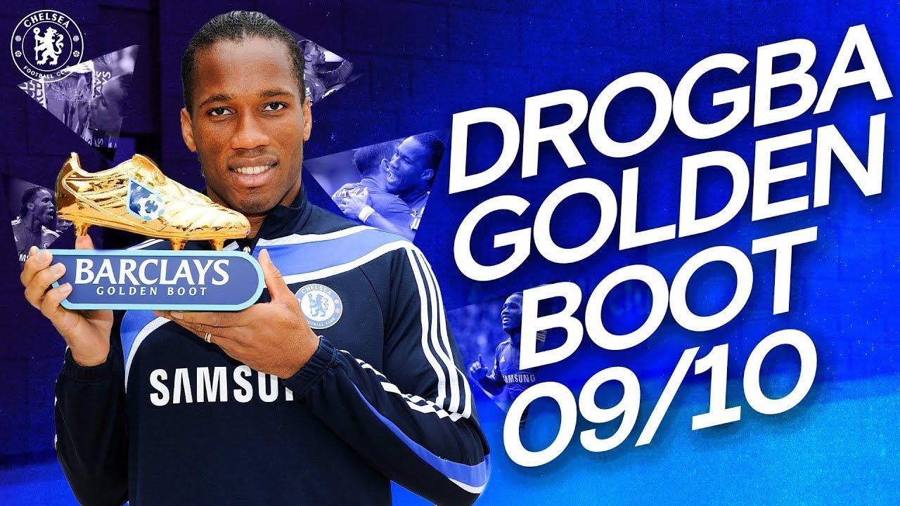 Didier Drogba's Golden Boot Winning Season | All 29 Goals | Premier League 2009/10