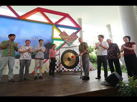 Opening of Kampung Admiralty