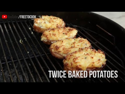 How to Cook Twice Baked Potatoes (Quickie)