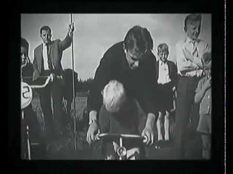 The first Bicycle Motocross film - (1957 oldschool BMX) - Amersfoort, Netherlands