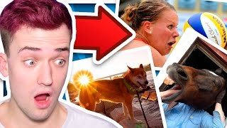 PHOTOS THAT ARE TAKEN RIGHT BEFORE SOMETHING HAPPENS!!