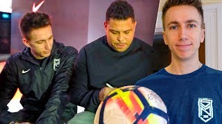 SURPRISE HOME VISIT WITH RONALDO FOOTBALL!