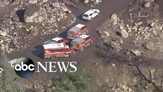 More than a dozen still missing in California mudslides