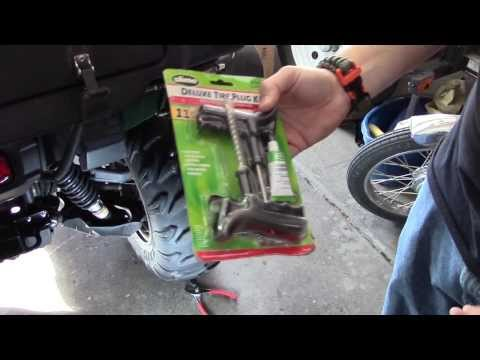 Tire Plug (Flat Tire) How-To Fix