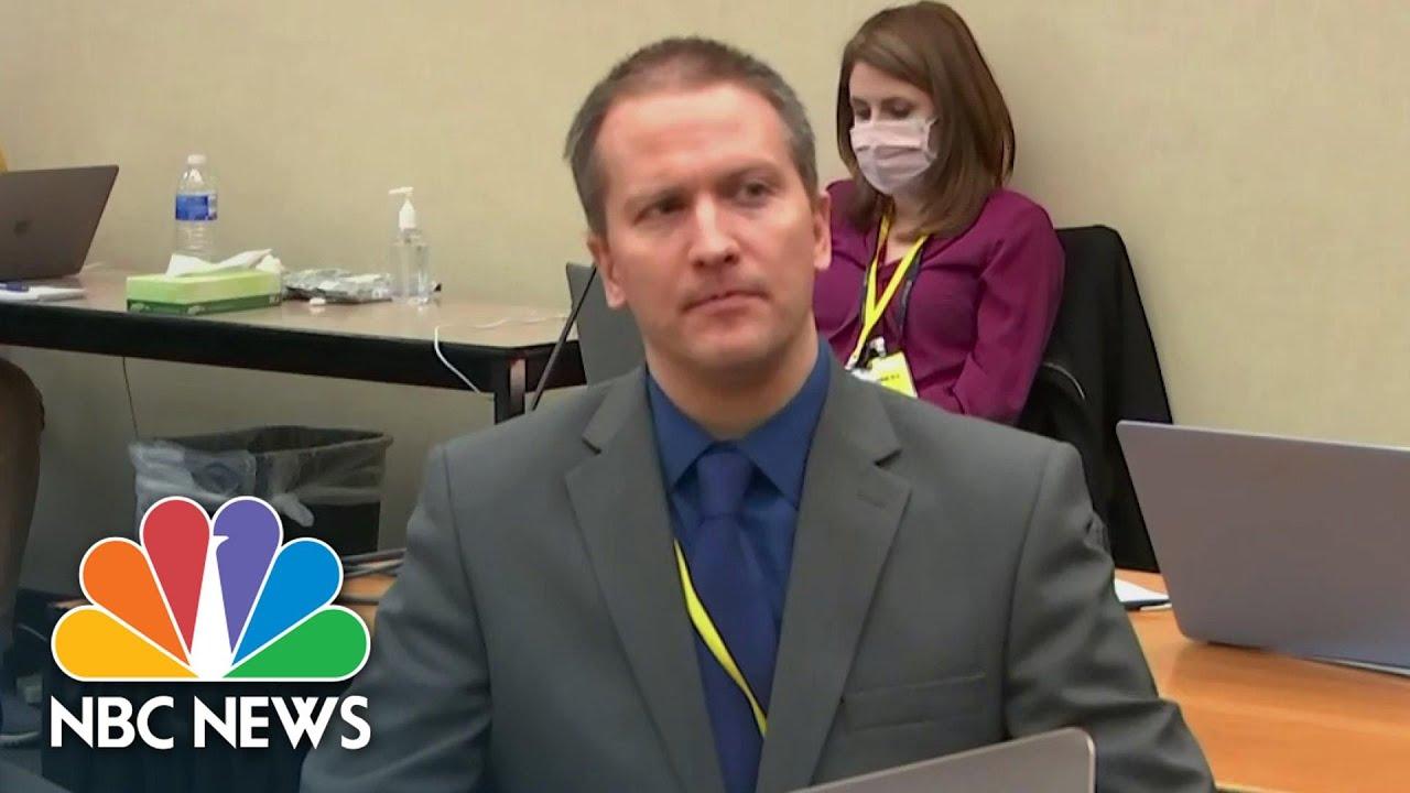 Derek Chauvin Says He Will Not Testify, Invokes 5th Amendment | NBC News NOW