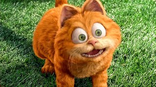 Odie saves Garfield from A Dog Scene - GARFIELD (2004) Movie Clip