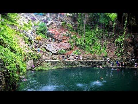 Exploring Cenote Maya and Valladolid city 4K UHD