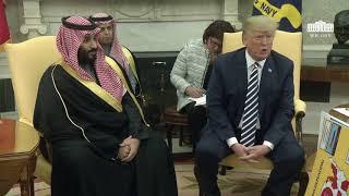 President Trump Meets with Crown Prince Mohammad bin Salman of the Kingdom of Saudi Arabia