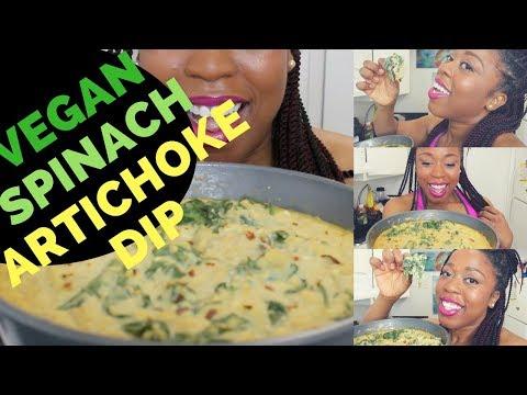 Episode 47: Vegan Spinach Artichoke Dip!  Perfect for Parties!