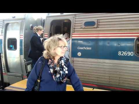 Amtrak Vermonter 56 at Hartford Union Station