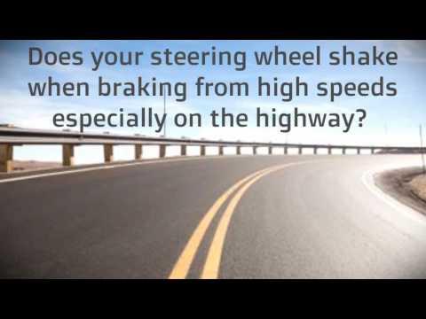 Brake services in Jamaica | Honda brake rotor skimming while on the vehicle