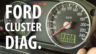 Ford Fiesta Mk6 - Self Test and Reading Error Codes of