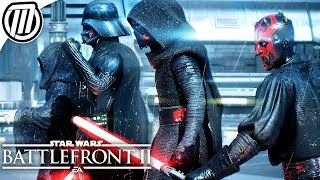Star Wars Battlefront 2 Heroes VS Villians is EPIC!! - Gameplay Live Stream