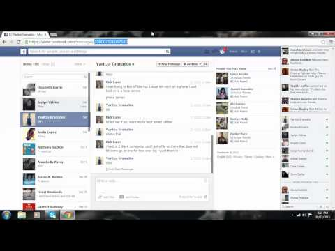 how to get someones id on facebook