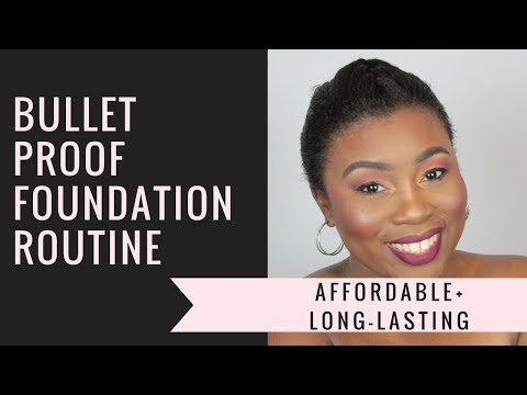 Bullet Proof Long-lasting Foundation Routine | Candy WorldTV