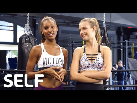 Victoria's Secret Angels Share Their Morning Routines | SELF