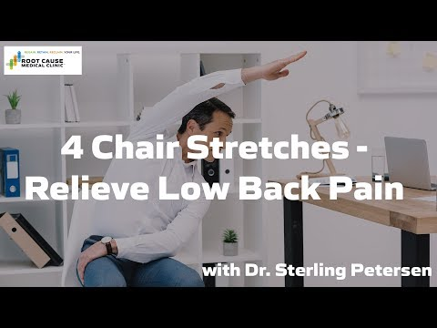 4 Chair Stretches - Relieve Low Back Pain