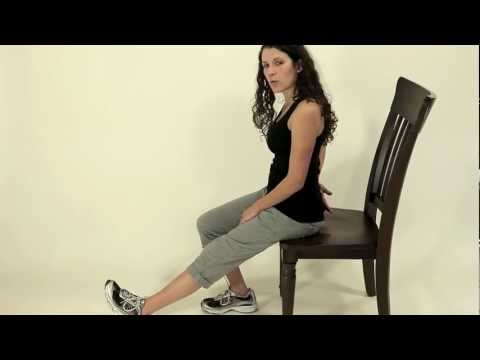 Seated Hamstring Stretch 1
