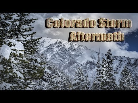 Colorado Crazy SnowStorm Aftermath