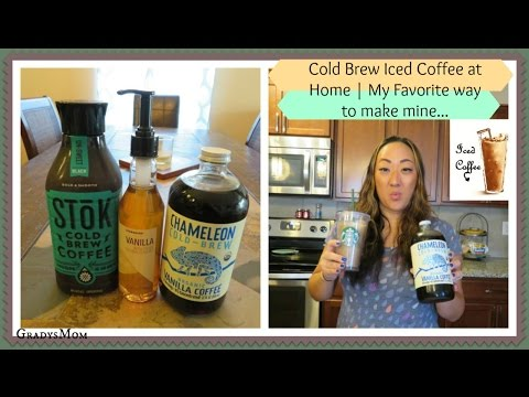 Cold Brew Iced Coffee at Home | Money Saving & Delicious (Starbucks Hack)
