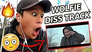 REACTING TO WolfieRaps - Check the Statistics Feat. Ricegum (Official Music Video)