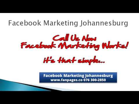 Facebook Apps For Fan Pages in Johannesburg -