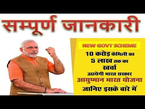 आयुष्मान भारत योजना की पूरी जानकारी | Ayushman Bharat Yojana In Hindi सम्पूर्ण जानकारी GOVT SCHEME