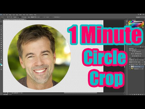 How to an Crop Image to a Circle Shape using Photoshop CC