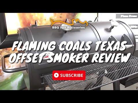 Flaming Coals Texas Offset Smoker Review