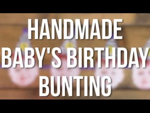 Party Hat Printable DIY Kids Party Bunting