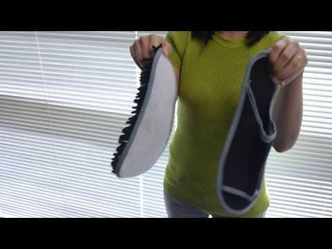 Slipper Genie Microfiber Slippers for Floor Cleaning