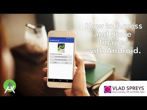 How to get an image from a camera or a gallery and save it in Android.