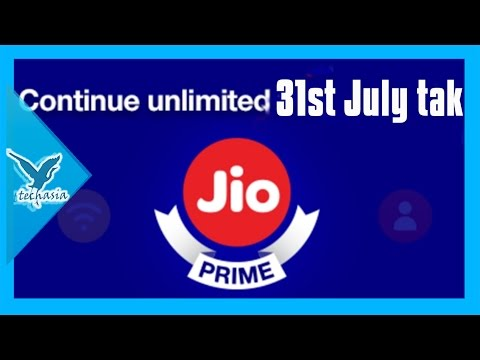Free JIO services till 31st July- Watch to know more about It.