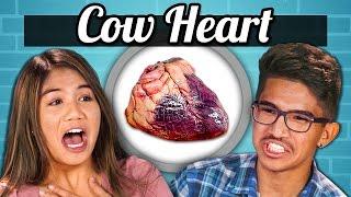 TEENS vs. FOOD - COW HEARTS
