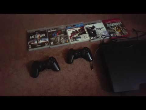 PS3 Slim 320 GB Jailbroken + Games Giveaway