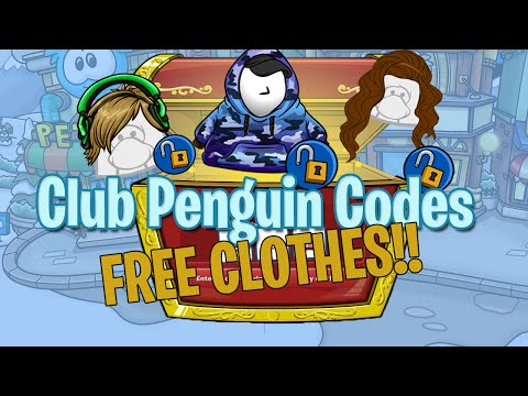 Club Penguin Codes for Clothes 2016