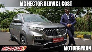 MG Hector Service Cost, Warranty, resale | Hindi | MotorOctane