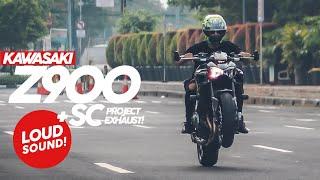 BEAUTIFUL SOUND OF KAWASAKI Z900 + SC PROJECT EXHAUST