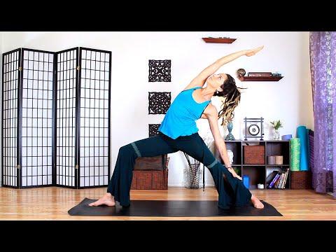 Intermediate Yoga - 30 Minute Full Body Power Vinyasa