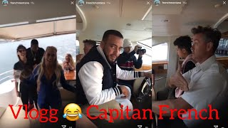 French Montana Vlogg 1 Yacht Party ! Australia FUNNY