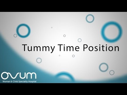 Tummy Time position