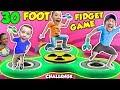 30FT GIANT FIDGET SPINNER GAME Challenge