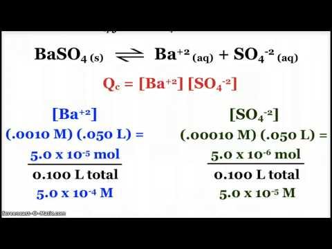 AP Chemistry Precipitation Calculations