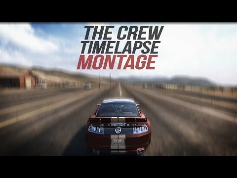 The Crew in Motion - TIMELAPSE Montage (Drivelapse Across America) 1080p HD 60fps