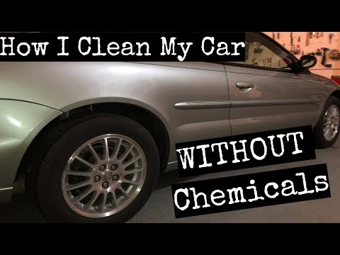 How I Clean My Car WITHOUT Chemicals! | e-cloth | eco friendly | all natural | ECO HACKS