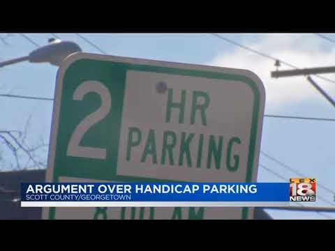Argument Over Handicap Parking