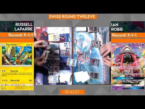 Russel Laparre Vs Ian Robb Swiss R12 -2018 St. Louis Regionals